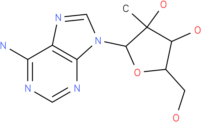 Adenosine,2'-C-methyl-