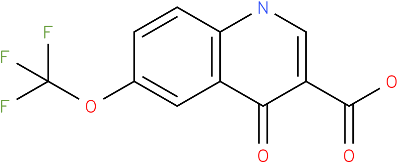 4-HYDROXY-6-(TRIFLUOROMETHOXY)QUINOLINE-3-CARBOXYLIC ACID