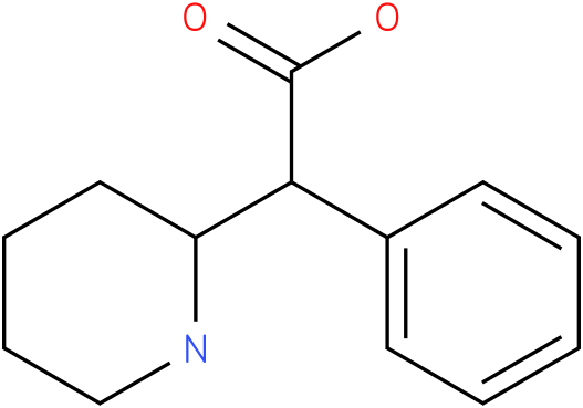 2-Phenyl-2-(2-piperidyl) acetic acid