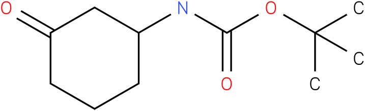 (3-oxo-cyclohexyl)-carbamic acid tert-butyl ester