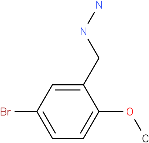 5-Bromo-2-methoxy-benzyl-hydrazine