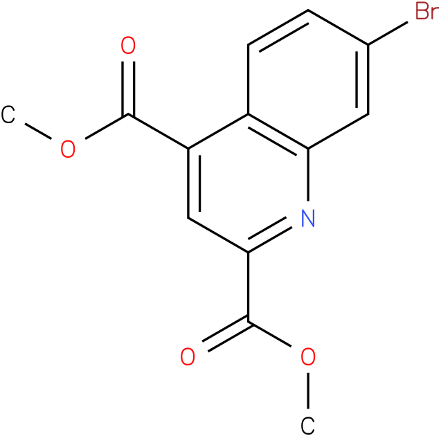 dimethyl 7-bromoquinoline-2,4-dicarboxylate