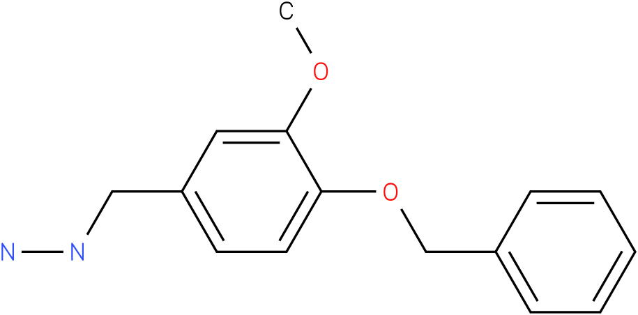 (4-Benzyloxy-3-methoxy-benzyl)-hydrazine