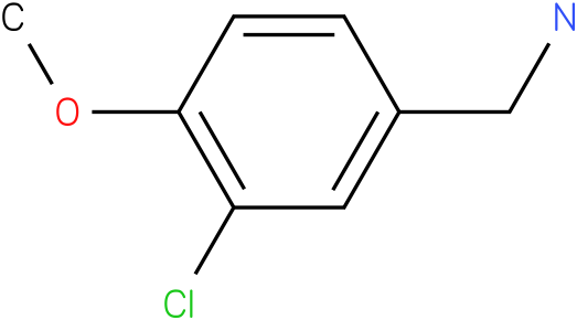 3-Chloro-4-methoxy-benzylamine