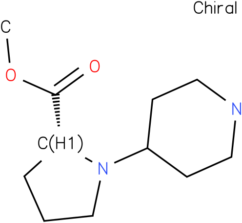 (R)-1-piperidin-4-yl-pyrrolidine-2-carboxylic acid methyl ester
