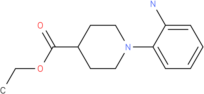 1-(2-amino-phenyl)-piperidine-4-carboxylic acid ethyl ester