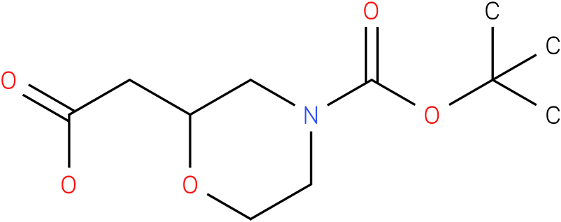 2-carboxymethyl-morpholine-4-carboxylic acid tert-butyl ester