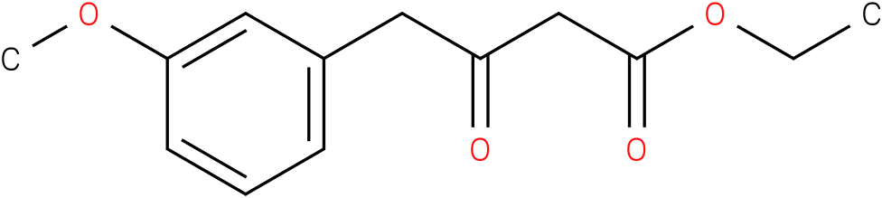 4-(3-methoxy-phenyl)-3-oxo-butyric acid ethyl ester