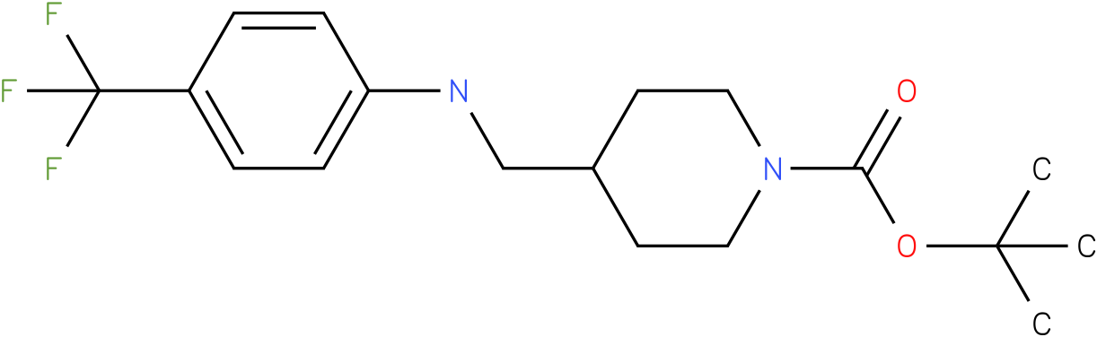 1-Boc-4-[(4-Trifluoromethyl-phenylamino)-methyl]-piperidine