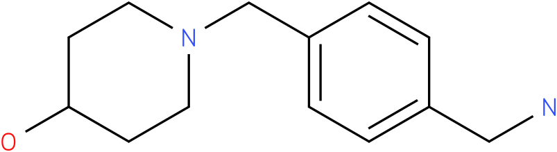 1-(4-aminomethyl-benzyl)-piperidin-4-ol