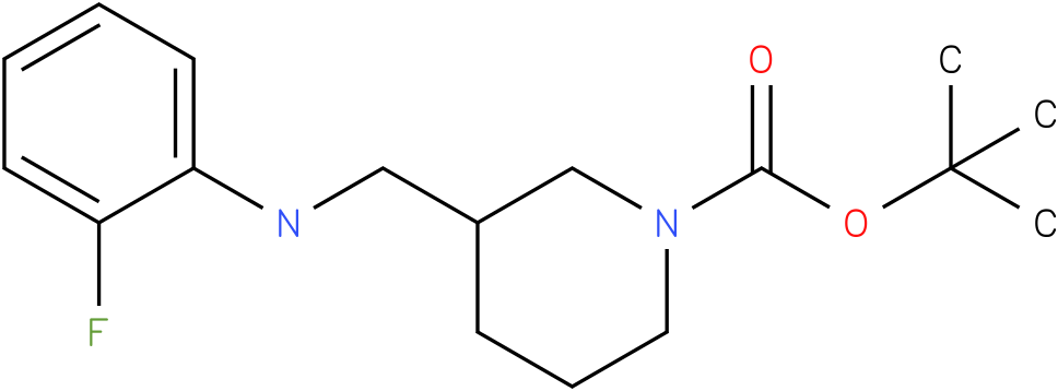 1-Boc-3-[(2-Fluoro-phenylamino)-methyl]-piperidine