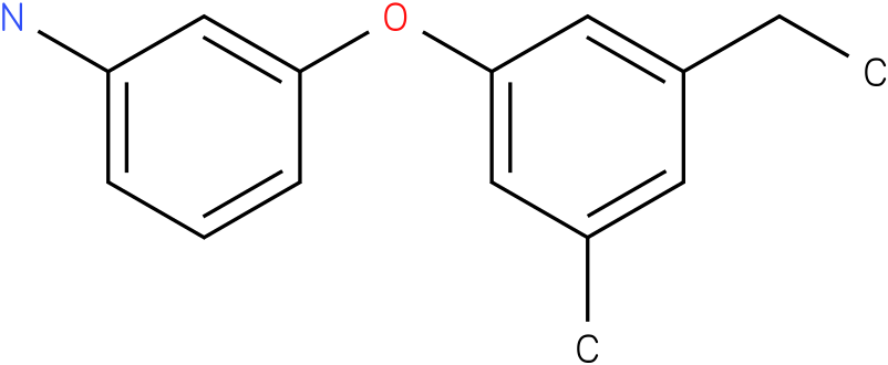 3-(3-ethyl-5-methyl-phenoxy)-phenylamine