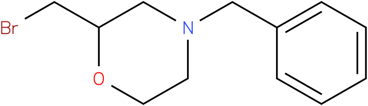 2-bromomethyl-4-benzylmorpholine