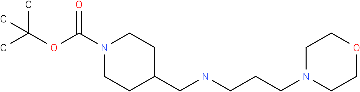 1-Boc-4-{[3-(Morpholin-4-yl)-propylamino]-methyl}-piperidine