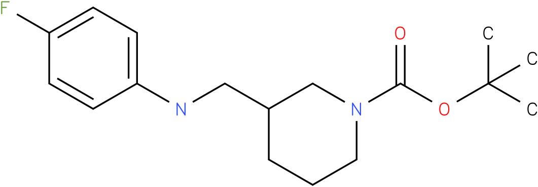 1-Boc-3-[(4-Fluoro-phenylamino)-methyl]-piperidine
