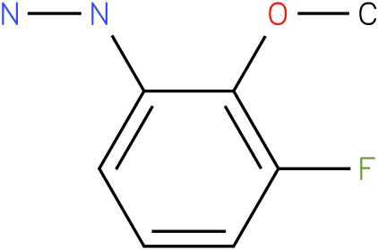 3-Fluoro-2-methoxy-phenyl-hydrazine