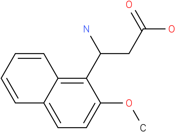 3-Amino-3-(2-methoxy-naphthalen-1-yl)-propionic acid
