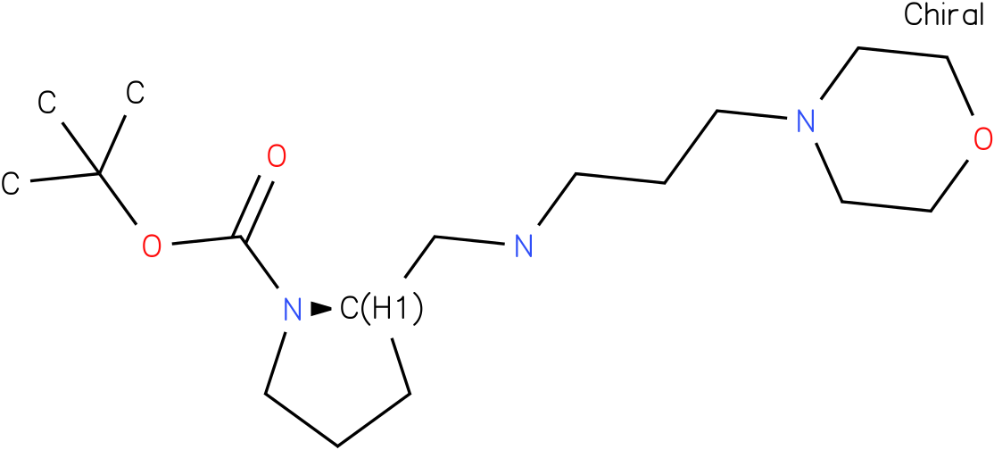 (R)-1-Boc-2-{[(Morpholin-4-ylpropyl)-amino]-methyl}-pyrrolidine