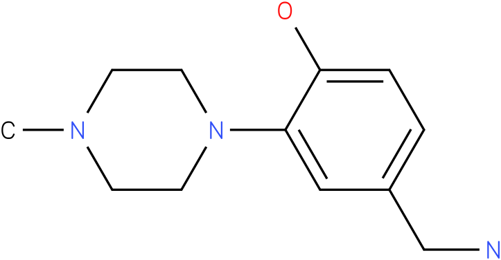 4-Aminomethyl-2-(4-methyl-piperazin-1-yl)-phenol