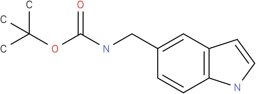 (1H-indole-5-ylmethyl)-carbamic acid tert-butyl ester