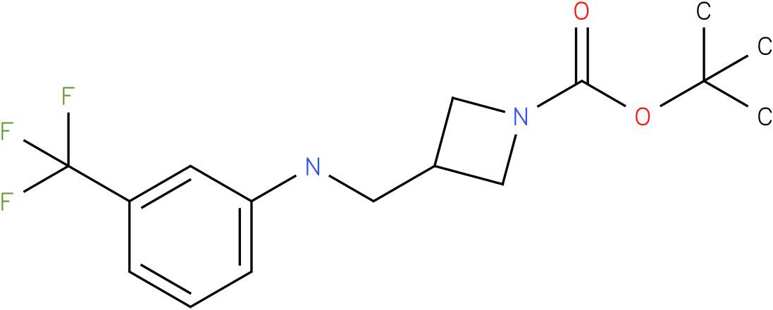 1-Boc-3-{[(3-Trifluoromethyl-phenyl)-amino]-methyl}-azetidine