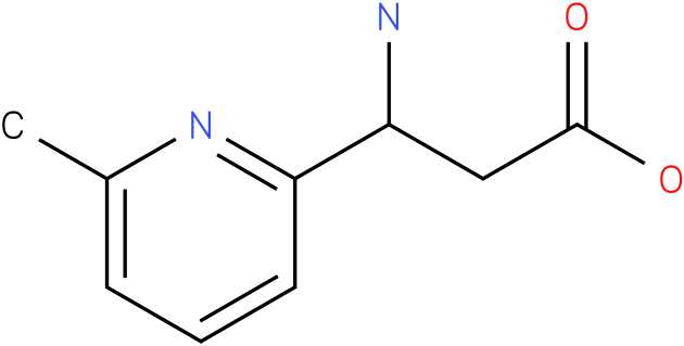3-Amino-3-(6-methyl-pyridin-2-yl)-propionic acid