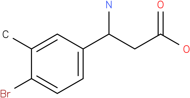 3-Amino-3-(4-bromo-3-methyl-phenyl)-propionic acid