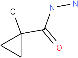 1-Methylcyclopropanecarboxylic acid hydrazide