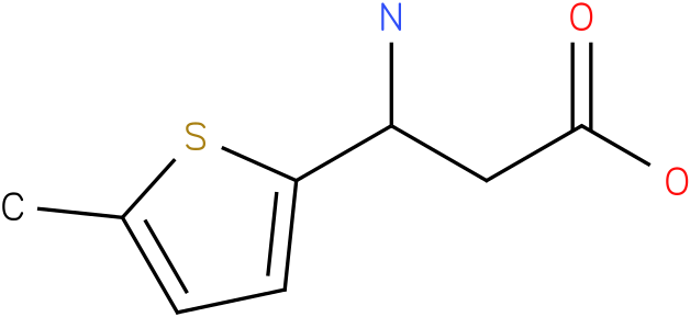3-Amino-3-(5-methyl-thiophen-2-yl)-propionic acid
