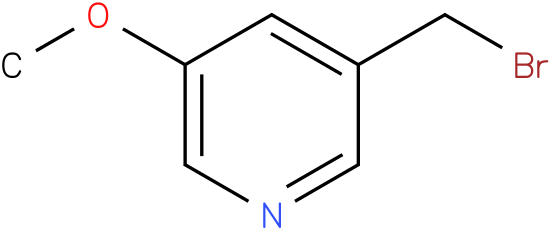 3-(bromomethyl)-5-methoxypyridine