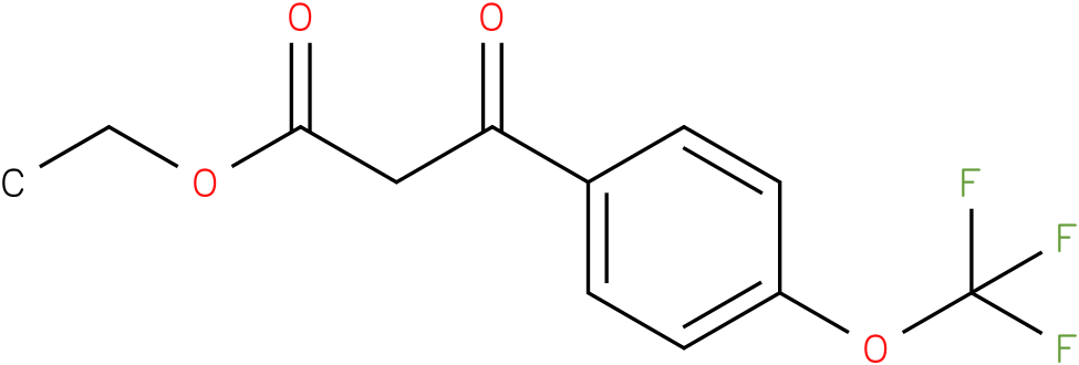 Ethyl 3-[4-(trifluoromethoxy)-phenyl]-3-oxopropanoate