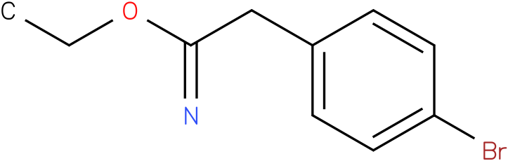 2(4-Bromo-phenyl)-acetimidic acid ethyl ester