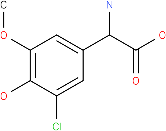 Amino-(3-chloro-4-hydroxy-5-methoxy-phenyl)-acetic acid