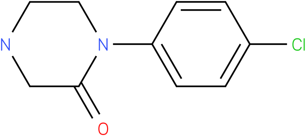 1-(4-chloro-phenyl)-piperazin-2-one