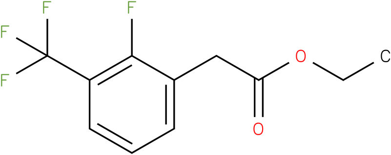ethyl 2-(2-fluoro-3-(trifluoromethyl)phenyl)acetate