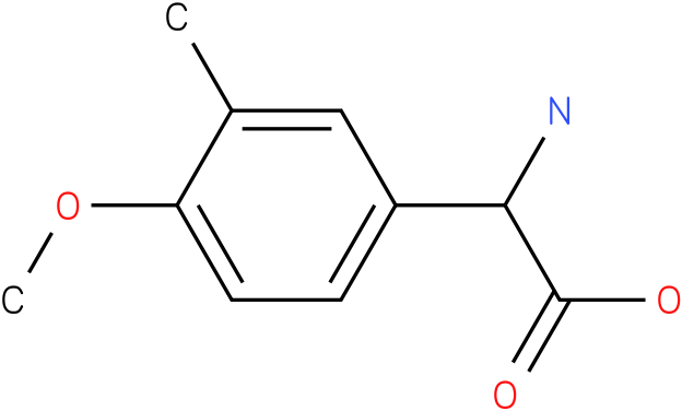 Amino-(4-methoxy-3-methyl-phenyl)-acetic acid