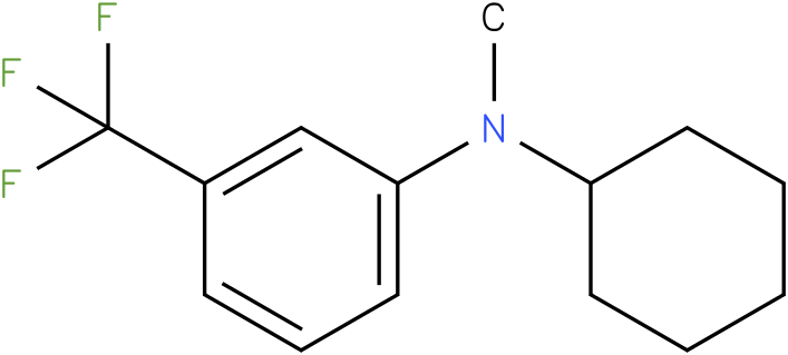 Cyclohexylmethyl-(3-trifluoromethyl-phenyl)-amine