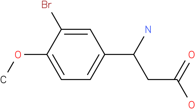 3-Amino-3-(3-bromo-4-methoxy-phenyl)-propionic acid