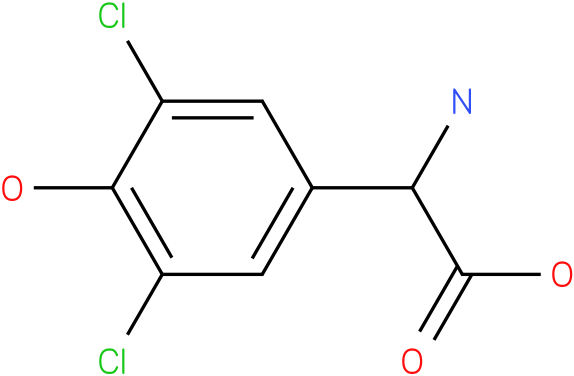 Amino-(3,5-dichloro-4-hydroxy-phenyl)-acetic acid