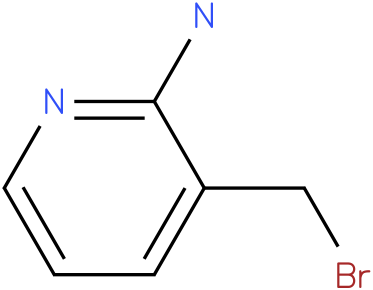 3-(BROMOMETHYL)PYRIDIN-2-AMINE