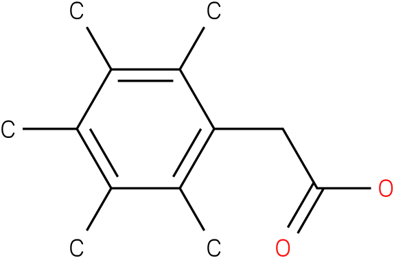 2-(2,3,4,5,6-pentamethylphenyl)acetic acid