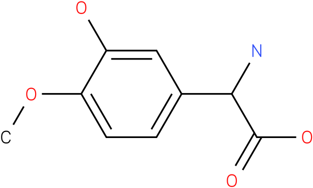 Amino-(3-hydroxy-4-methoxy-phenyl)-acetic acid