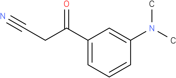 3-(3-Dimethylamino-phenyl)-3-oxo-propionitrile