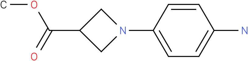 1-(4-Amino-phenyl)-azetidine-3-carboxylic acid methyl ester