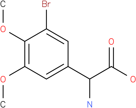 Amino-(3-bromo-4,5-dimethoxy-phenyl)-acetic acid