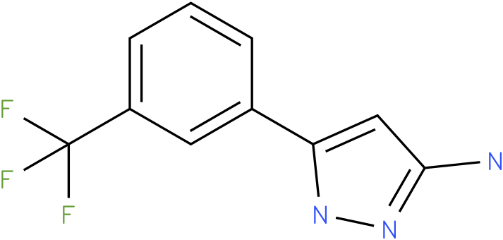 5-(3-Trifluoromethyl-phenyl)-2H-pyrazol-3-ylamine