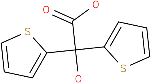 2-HYDROXY-2,2-BIS(2-THIENYL) ACETIC ACID