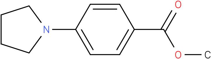 Methyl 4-Pyrrolidin-1-1ylbenzoate
