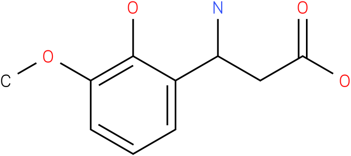 3-Amino-3-(2-hydroxy-3-methoxy-phenyl)-propionic acid