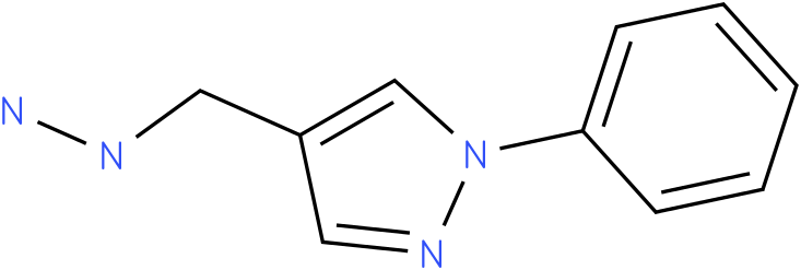 4-(hydrazinomethyl)-1-phenyl-1H-pyrazole